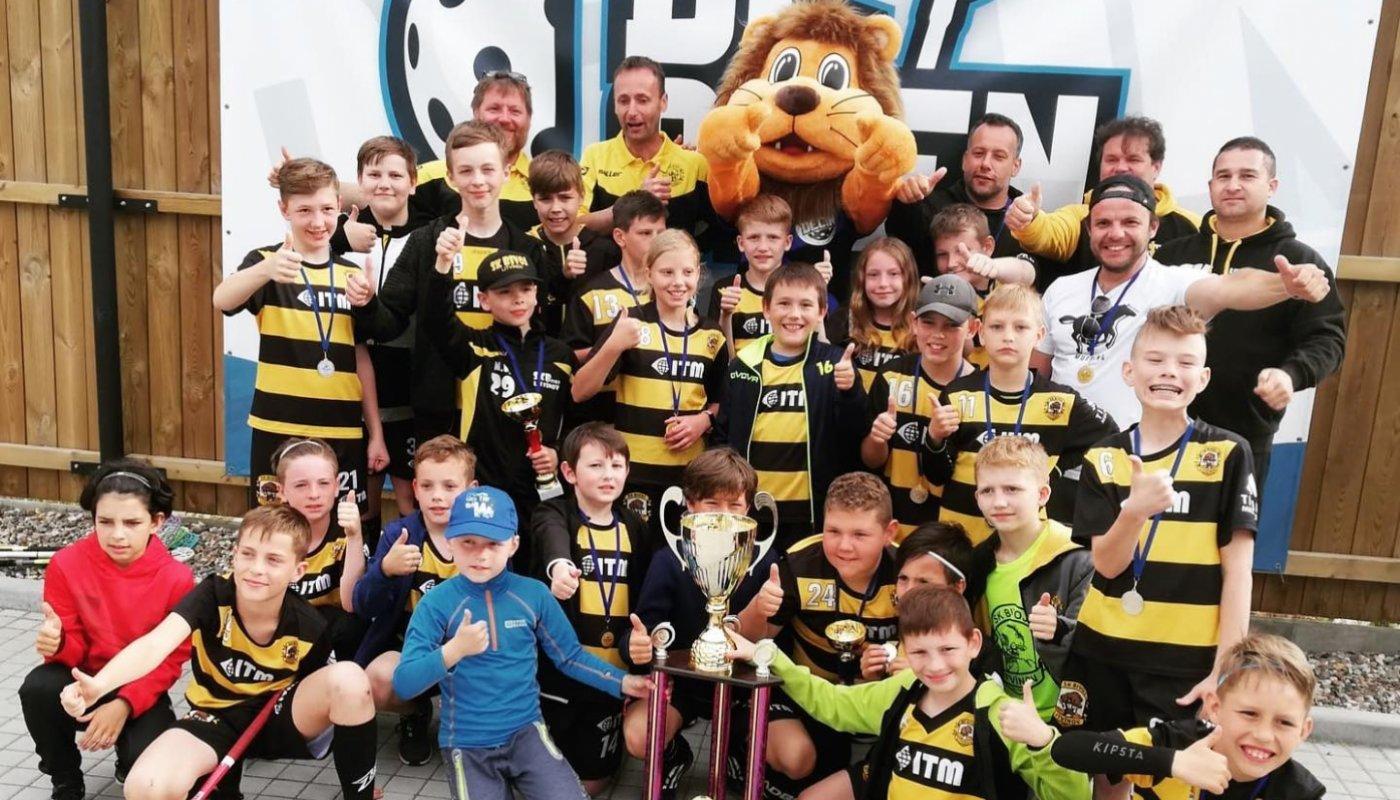 Nejlepší florbalovou mládež v regionu má Litvínov